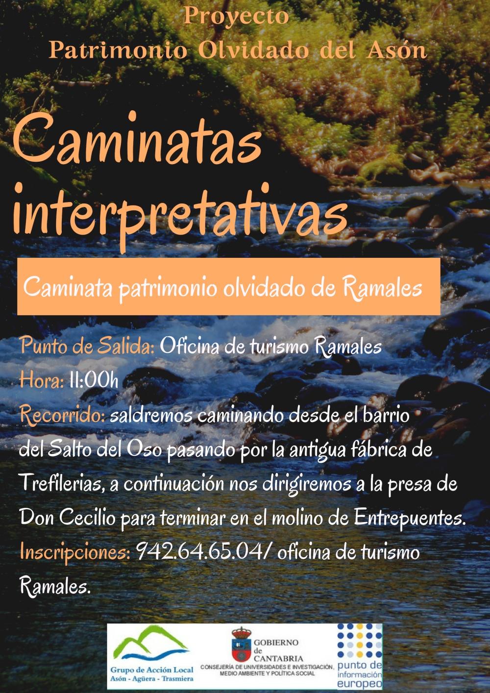caminata interpretativa Ramales