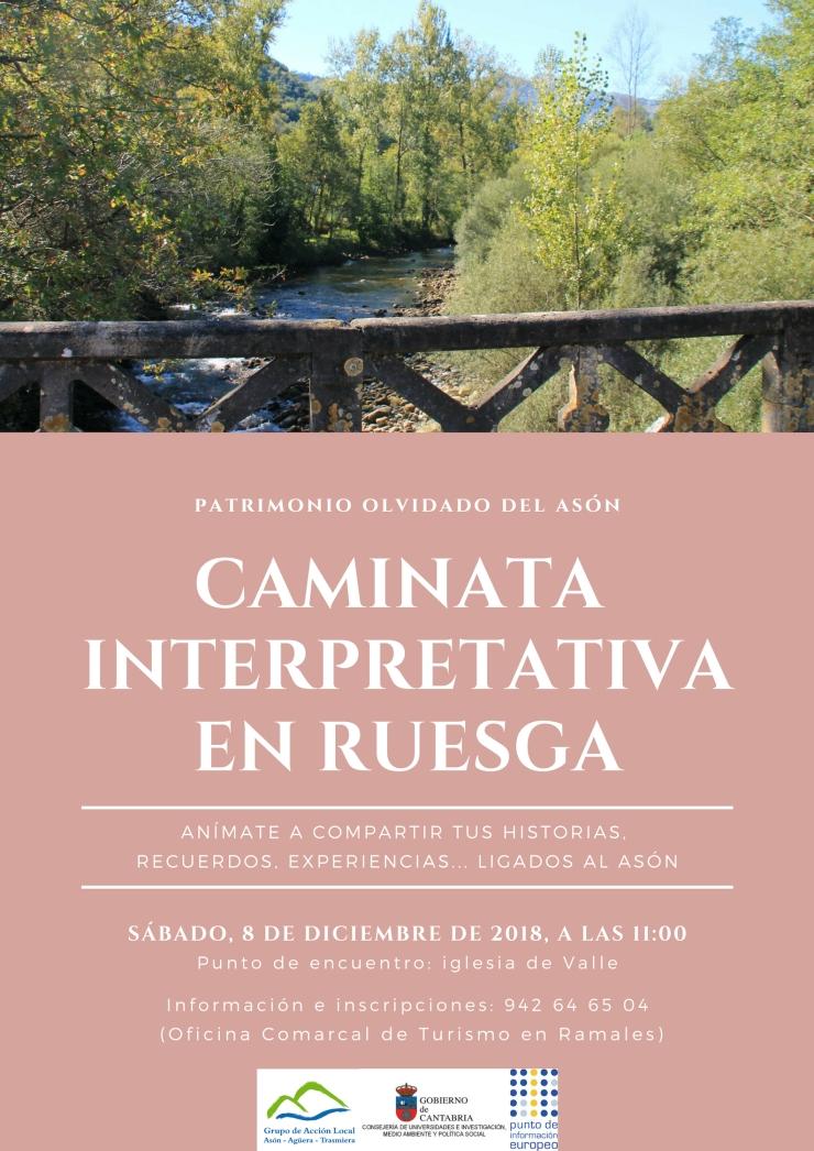 Caminata Ruesga_con punto de encuentro_08dic2018
